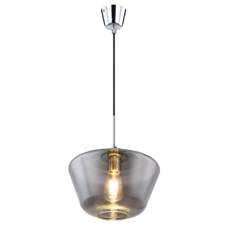Pendul design modern COBY fumuriu 15436H1 GL,  a