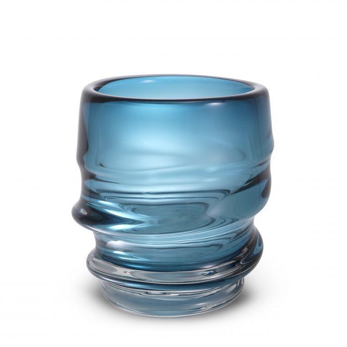 Vaza flori, Vas decorativ Xalvador S albastru 114813 HZ,  a