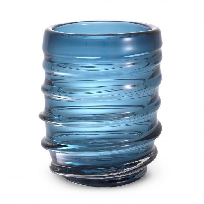 Vaza flori, Vas decorativ Xalvador L albastru 114812 HZ,  a