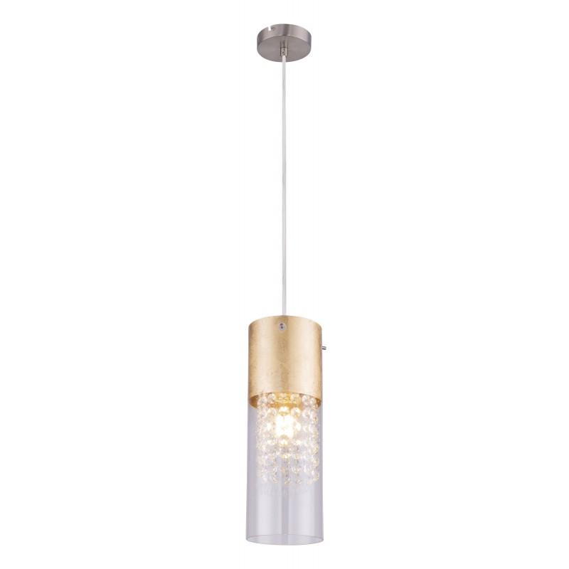 Pendul design modern WEMMO nichel mat 15908-1G GL,  a
