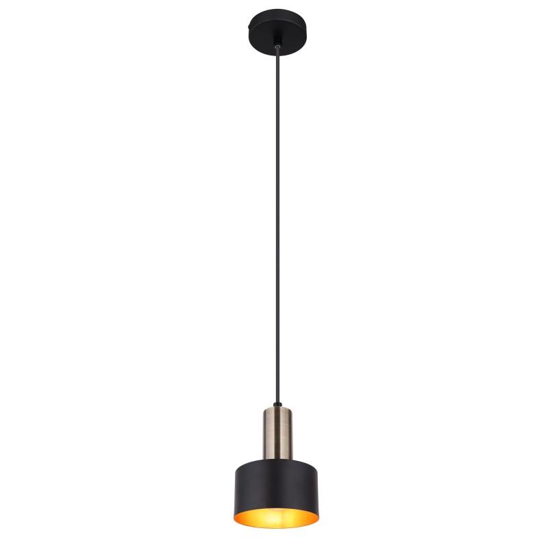 Pendul design modern SWINNI negru 15375H GL,  a
