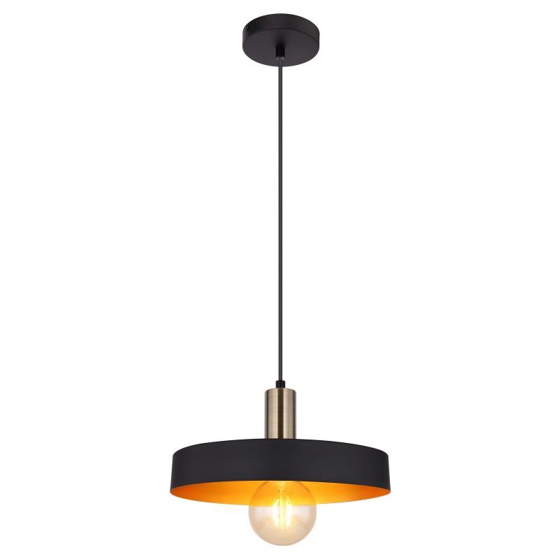 Pendul design modern SWINNI negru 15375H1 GL,  a