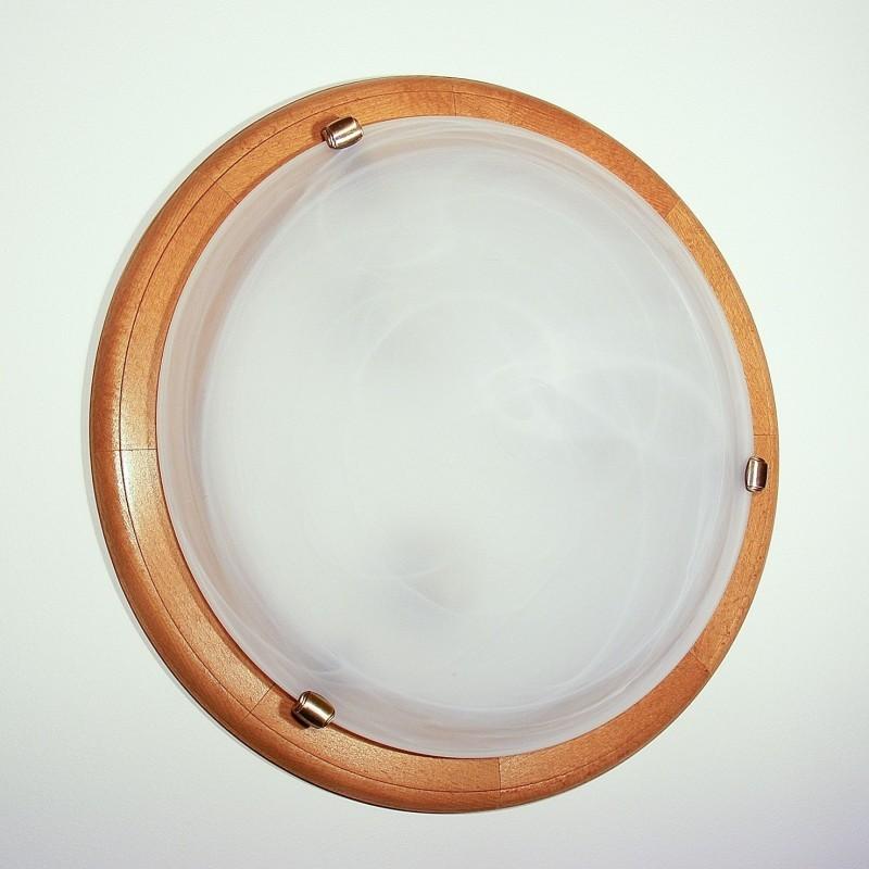 Plafoniera clasica fabricata manual din lemn diametru 46cm Enya WOOD-EN-PL2D46, Corpuri de iluminat clasice ⭐ modele lustre decorative pentru iluminat interior: living, baie, sufragerie, bucatarie, hol, dormitor, birou, copii.✅Design actual Top 2020.❤️Promotii lampi❗ ➽www.evalight.ro ➽ sursa ta de lumina online❗ Alege oferte la corpuri iluminat de tip suspensii, suspendate sau aplicate de tavan (perete), candelabre elegante stil traditional, scandinav, retro sau vintage, industrial pt toate camerele din casa, ieftine si de lux la preturi reduse❗ ➽ Showroom in Bucuresti si Timisoara.  a