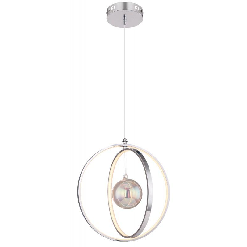 Pendul LED design modern KIZZY crom 15606-36 GL,  a
