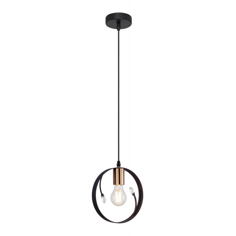 Pendul design modern VIGO negru 15346-1 GL,  a