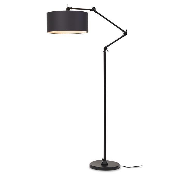 Lampadar modern cu brat articulat Amsterdam abajur negru, Cele mai noi produse 2021 a
