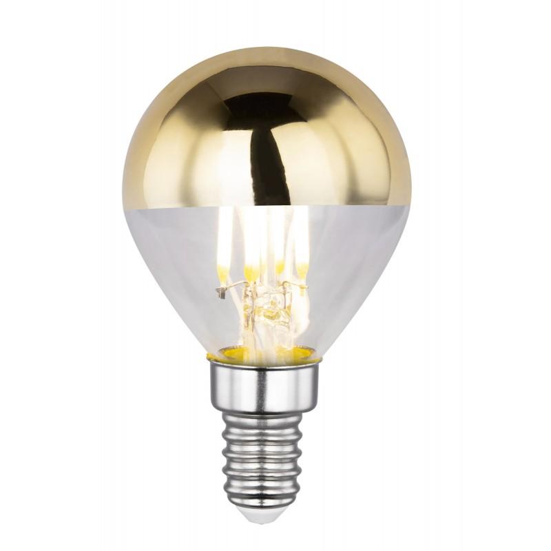 Bec LED decorativ cu filament E14 ILLU 4W 2700K 10505 GL, Candelabre si Lustre moderne elegante⭐ modele clasice de lux pentru living, bucatarie si dormitor.✅ DeSiGn actual Top 2020!❤️Promotii lampi❗ ➽ www.evalight.ro. Oferte corpuri de iluminat suspendate pt camere de interior (înalte), suspensii (lungi) de tip lustre si candelabre, pendule decorative stil modern, clasic, rustic, baroc, scandinav, retro sau vintage, aplicate pe perete sau de tavan, cu cristale, abajur din material textil, lemn, metal, sticla, bec Edison sau LED, ieftine de calitate deosebita la cel mai bun pret. a