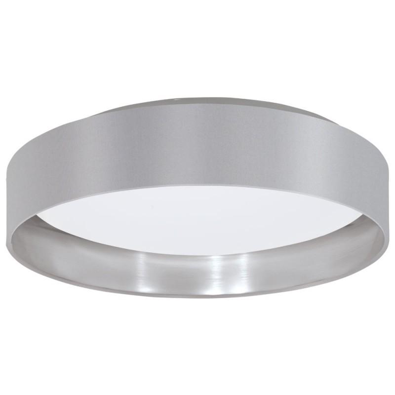 Plafoniera moderna gri/argintiu, diametru 38cm, LED MASERLO 2, Corpuri de iluminat LED pentru interior⭐ moderne: Lustre LED, Aplice LED, Plafoniere LED, Candelabre LED, Spoturi LED, Veioze LED, Lampadare LED.✅DeSiGn decorativ 2021!❤️Promotii lampi LED❗ Magazin online ➽ www.evalight.ro. Alege oferte la corpuri de iluminat cu LED, ieftine de calitate deosebita la cel mai bun pret. a