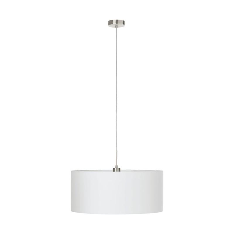 Pendul design modern PASTERI alb, 53cm 31575 EL, Cele mai noi produse 2021 a