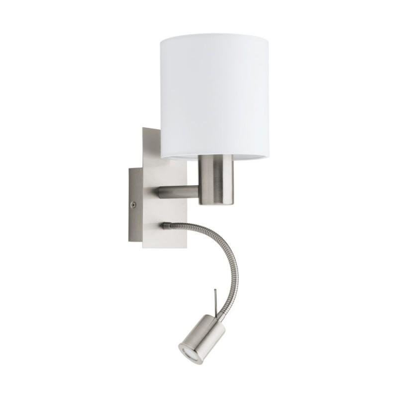 Aplica de perete cu reader LED design modern PASTERI alb 96477 EL, Cele mai noi produse 2021 a