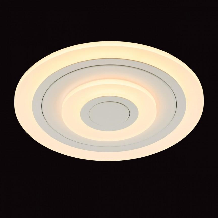 Plafoniera moderna LED dimabila cu telecomanda Hi-Tech 661016001 MW, Lustre cu LED si telecomanda⭐ modele moderne pentru iluminat cu LED dormitor, living si sufragerie.✅Design decorativ 2021!❤️Promotii lampi❗ ➽www.evalight.ro. Alege oferte la corpuri de iluminat cu telecomanda dimabile 3 functii cu lumina LED RGB si intensitate reglabila, ieftine si de lux, calitate deosebita la cel mai bun pret. a