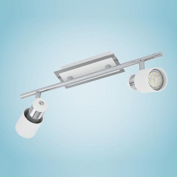 Spot, lustra cu 2 spoturi  Davida 92085 EL, ILUMINAT INTERIOR LED , ⭐ modele moderne de lustre LED cu telecomanda potrivite pentru living, bucatarie, birou, dormitor, baie, camera copii (bebe si tineret), casa scarii, hol. ✅Design de lux premium actual Top 2020! ❤️Promotii lampi LED❗ ➽ www.evalight.ro. Alege oferte la sisteme si corpuri de iluminat cu LED dimabile (becuri cu leduri si module LED integrate cu lumina calda, naturala sau rece), ieftine si de lux. Cumpara la comanda sau din stoc, oferte si reduceri speciale cu vanzare rapida din magazine la cele mai bune preturi. Te aşteptăm sa admiri calitatea superioara a produselor noastre live în showroom-urile noastre din Bucuresti si Timisoara❗ a