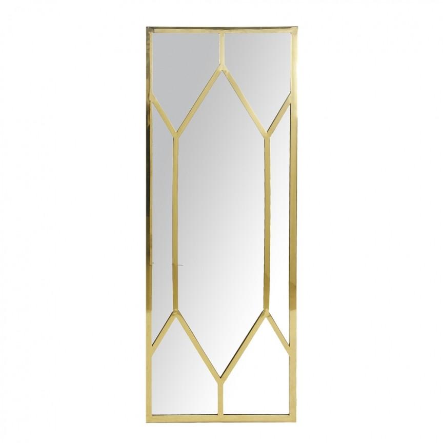 Oglinda decorativa design LUX Gold 150x54cm 28913 VH, Oglinzi decorative moderne✅ decoratiuni de perete cu oglinda⭐ modele mari si rotunde pentru Hol, Living, Dormitor si Baie.❤️Promotii la oglinzi cu design decorativ❗ Intra si vezi poze ✚ pret ➽ www.evalight.ro. ➽ sursa ta de inspiratie online❗ Alege oglinzi deosebite Art Deco de lux pentru decorare casa, fabricate de branduri renumite. Aici gasesti cele mai frumoase si rafinate obiecte de decor cu stil contemporan unicat, oglinzi elegante cu suport de prindere pe perete, de masa sau de podea potrivite pt dresing, cu rama din metal cu aspect antichizat sau lemn de culoare aurie, sticla argintie in diferite forme: oglinzi in forma de soare, hexagonale tip fagure hexagon, ovale, patrate mici, rectangulara sau dreptunghiulara, design original exclusivist: industrial style, retro, vintage (produse manual handmade), scandinav nordic, clasic, baroc, glamour, romantic, rustic, minimalist. Tendinte si idei actuale de designer pentru amenajari interioare premium Top 2020❗ Oferte si reduceri speciale cu vanzare rapida din stoc, oglinzi de calitate la cel mai bun pret. a