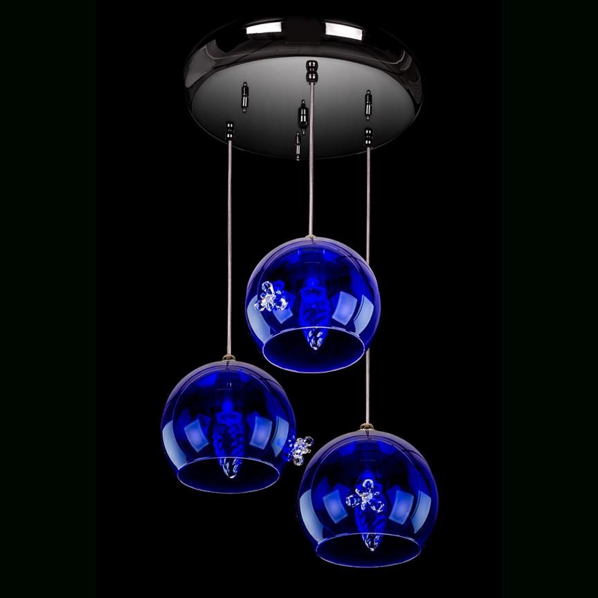 Lustra cu 3 pendule design LUX NIGHT SKY 03-CH, Cele mai noi produse 2021 a
