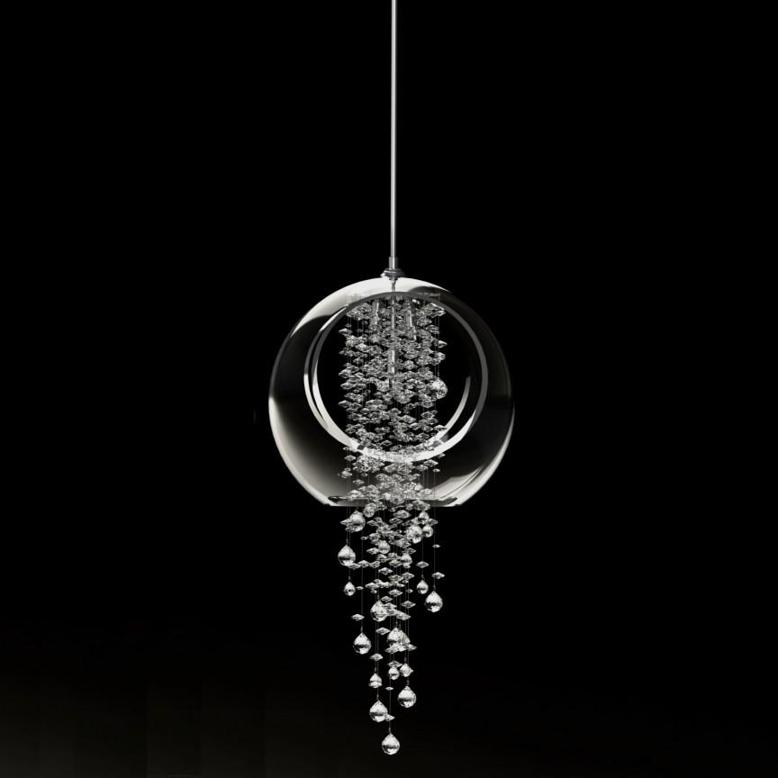 Lustra moderna Vision design LUX cristal Exclusive ALIA 03 A – CH, Lustre / Pendule Cristal Bohemia⭐ modele suspendate deosebite stil Baroc din cristal Bohemia autentic din Cehia❗ ✅Design unicat Premium Top 2021!❤️Promotii lampi cristal❗ ➽ www.evalight.ro. Alege oferte la corpuri de iluminat din cristal de tip lustra si pendul din cristal, suspensii decorate in stil elegant de lux, clasice si moderne dar si traditionale, realizate manual (handmade) din decoratiuni de sticla si din cristal slefuit, abajur de material textil, brate tip lumanare cu bec-uri cu filament normal, vintage Edison sau LED, din metale pretioase de culoarea alamei lustruite (chiar si aur de 24 carate) sau din nichel (argint), finisaj bronz antique, potrivite pentru camere mari, horeca (bar, hotel, restaurant, pensiune, sali de nunti ), spatii comerciale sau casa (living, dormitor, bucatarie, casa scarii), calitate înalta la cel mai bun pret. a