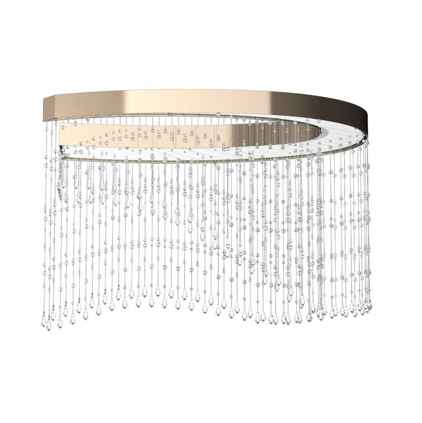 Lustra moderna aplicata LED Vision design LUX ANNULUS 01 – CH, Cele mai noi produse 2021 a