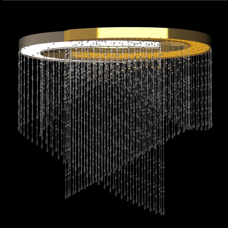 Lustra moderna aplicata LED Vision design LUX ANNULUS 03 – I, Cele mai noi produse 2021 a