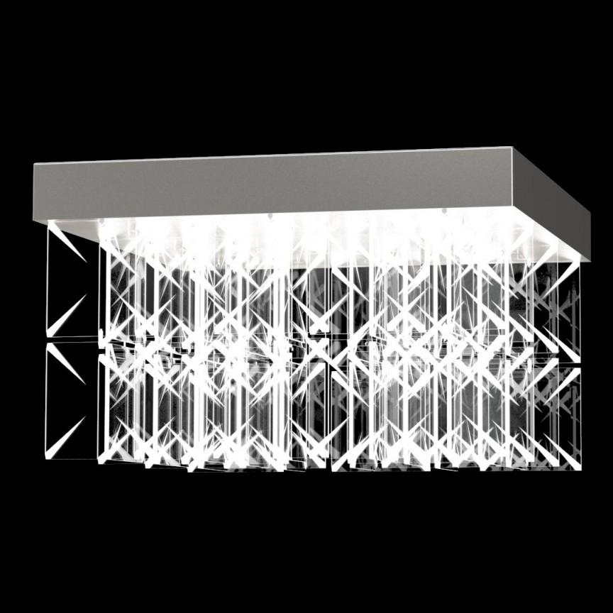 Lustra aplicata moderna LED Vision design LUX ARCTIC 01 – CH, Cele mai noi produse 2021 a