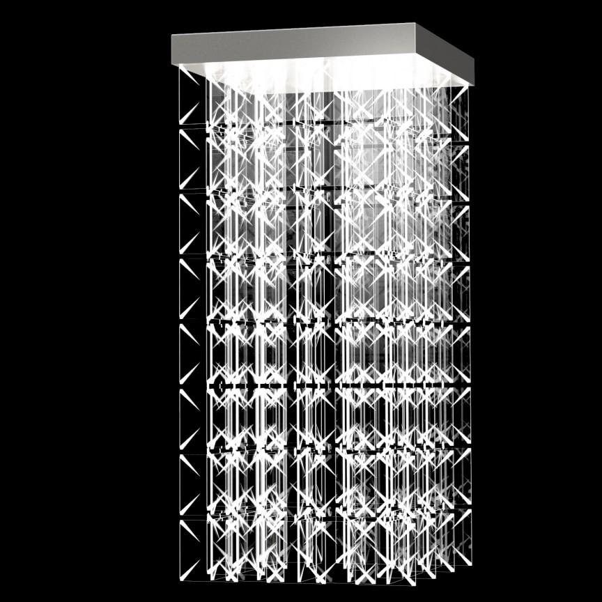 Lustra aplicata moderna LED Vision design LUX ARCTIC 03 – CH, Cele mai noi produse 2021 a