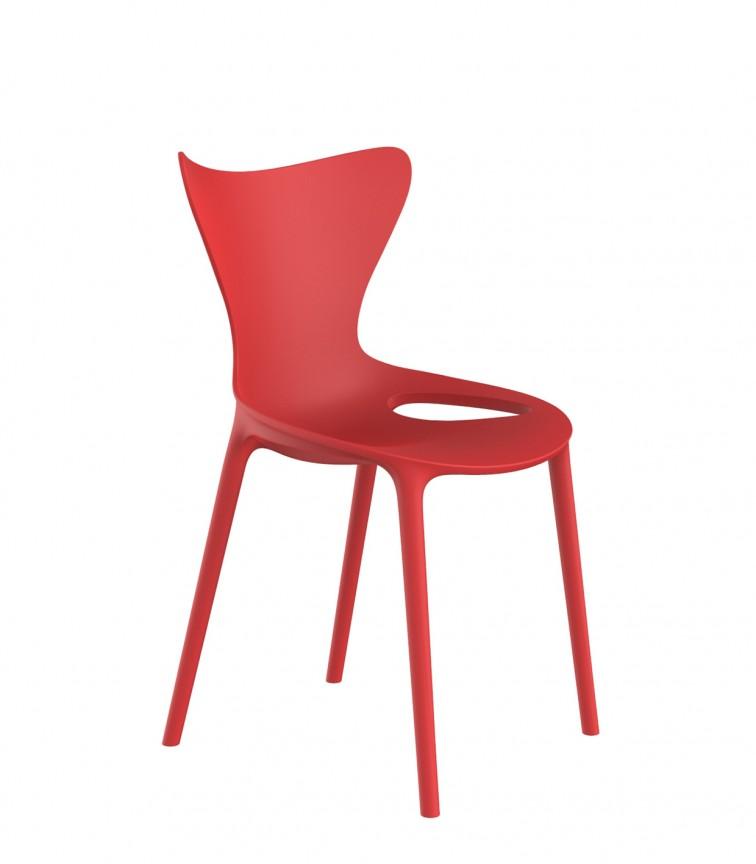 Set de 4 scaune pentru copii de exterior / interior design modern premium Love mini 65043, Cele mai noi produse 2021 a