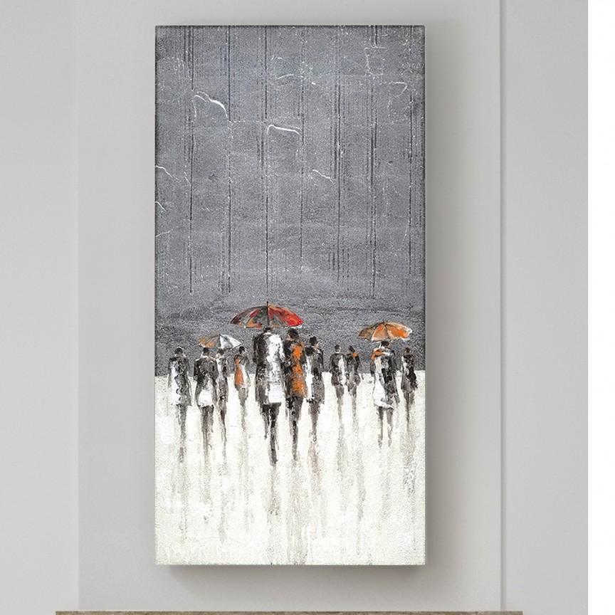 Tablou de perete decorativ canvas Llueve, 70x140cm SV-263474, Cele mai noi produse 2021 a