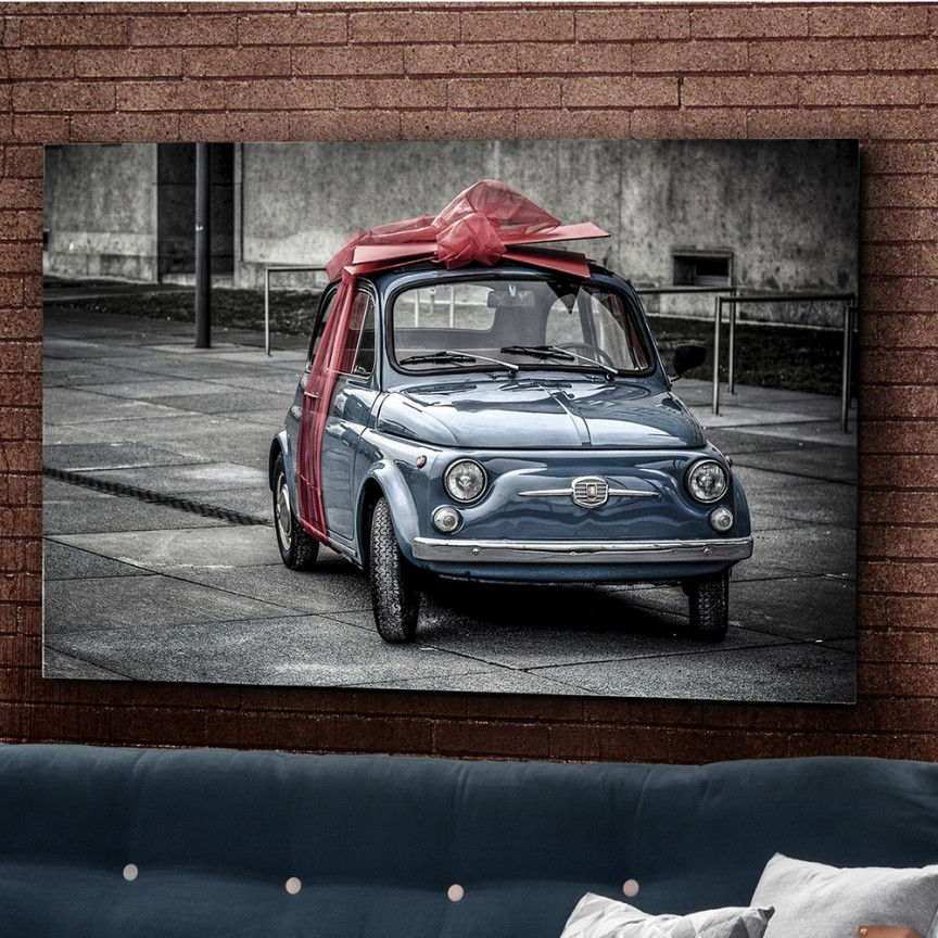 Tablou decorativ, imagine imprimata pe sticla calita Gift 120x80cm SV-936750, Cele mai noi produse 2021 a