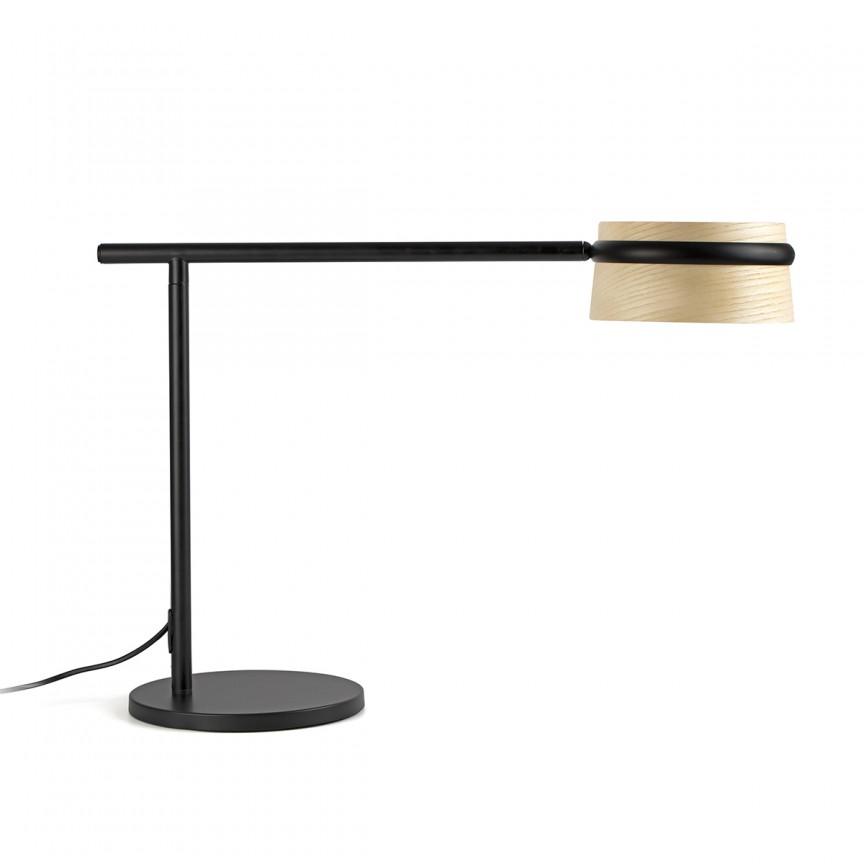 Veioza LED / Lampa de masa dimabila design deosebit LOOP frasin 29398, Promotii si Reduceri⭐ Oferte ✅Corpuri de iluminat ✅Lustre ✅Mobila ✅Decoratiuni de interior si exterior.⭕Pret redus online➜Lichidari de stoc❗ Magazin ➽ www.evalight.ro. a