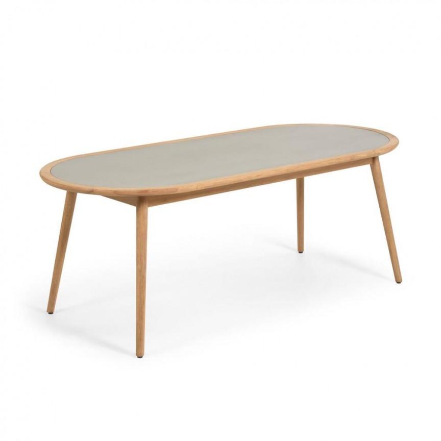 Masa din lemn de eucalipt pentru interior si exterior Glynis 200cm CC2013PR03 JG , Mese Dining moderne⭐ modele de lux din lemn sau sticla pentru sufragerie, living si bucatarie.✅DeSiGn deosebit 2021!❤️Promotii mese elegante❗ Magazin online ➽www.evalight.ro. Alege oferte la mese extensibile de 4/6/8/10/12 persoane cu scaune de tip mari si mici pliabile cu blat rotund, oval, dreptunghiular, picioare si cadru din lemn masiv, metalice cu aspect antichizat, sticla securizata, PAL melaminat lucios alb, MDF, nuc, stejar, marmura, granit, oglinda crom. Mese stil clasic, baroc, vintage, retro, industrial sau scandinav, ieftine de calitate la cel mai bun pret.   a
