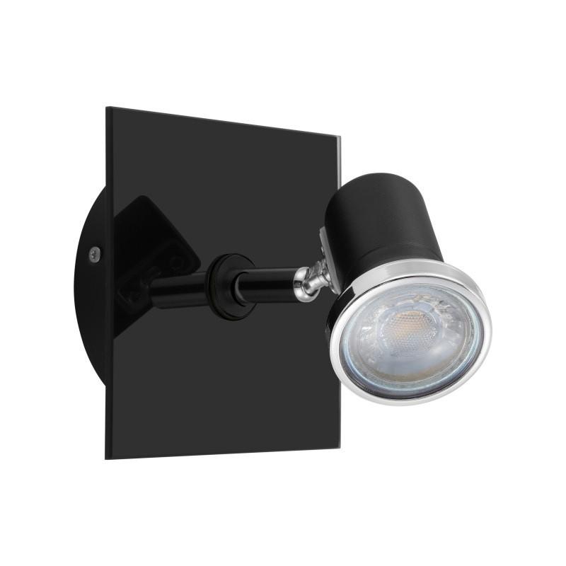 Aplica cu spot LED-GU10, protectie IP44, pentru baie TAMARA 1 33677 EL, Aplice aplicate perete sau tavan cu spot, LED⭐ modele moderne corpuri de iluminat tip spot-uri pe bara.✅Design decorativ 2021!❤️Promotii lampi❗ ➽ www.evalight.ro. Alege oferte aplice de iluminat interior, lustre si plafoniere cu 1 spot cu lumina LED si directie reglabila, spot orientabil cu intrerupator, simple si ieftine de calitate la cel mai bun pret. a