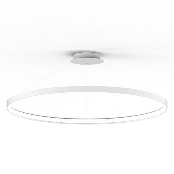 Lustra LED suspendata design modern circular CIRCLE 110, alb LA0717/1 - WH ZL, Corpuri de iluminat cu LED pentru interior⭐ modele moderne pt living dormitor, bucatarie, baie.✅DeSiGn LED decorativ 2021!❤️Promotii lampi LED❗ ➽ www.evalight.ro. Alege oferte la colectile NOI de lustre LED suspendate, candelabre de tip suspensii (lungi) cu cristale, abajur material textil, brate tip lumanare, lemn, metal, sticla, ieftine si de lux, calitate deosebita la cel mai bun pret. a