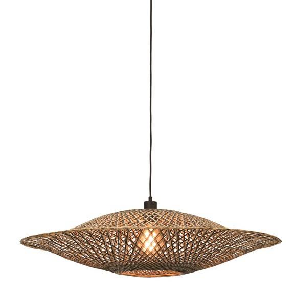 Lustra suspendata din bambus Bali orizontal L, 87cm BALI/H/8720/BN, Pendule / Lustre suspendate moderne, LED⭐ modele elegante potrivite pentru bucatarie, living dormitor.✅DeSiGn decorativ 2021!❤️Promotii lampi❗ ➽ www.evalight.ro. Alege oferte la colectile NOI de corpuri de iluminat suspendate pt interior cu stil modern, candelabre de tip suspensii (lungi) cu cristale, abajur material textil, brate tip lumanare, lemn, metal, sticla, ieftine si de lux, calitate deosebita la cel mai bun pret. a