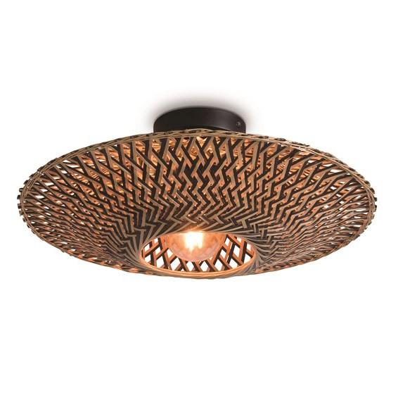 Plafoniera, lustra aplicata din bambus Bali, 44cm BALI/C/4412/BN, Plafoniere moderne, LED⭐ modele elegante de lux pentru living, dormitor, bucatarie sau hol.✅DeSiGn decorativ 2021!❤️Promotii lampi❗ ➽www.evalight.ro. Alege oferte NOI corpuri de iluminat interior de tip plafoniere si lustre aplicate, aplice tavan si de perete, ieftine de calitate deosebita la cel mai bun pret. a