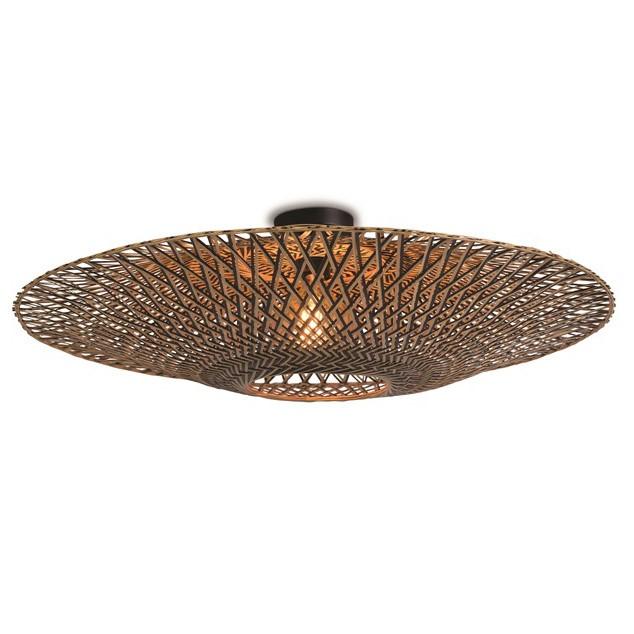 Plafoniera, lustra aplicata din bambus Bali, 87cm BALI/C/8720/BN, Plafoniere moderne, LED⭐ modele elegante de lux pentru living, dormitor, bucatarie sau hol.✅DeSiGn decorativ 2021!❤️Promotii lampi❗ ➽www.evalight.ro. Alege oferte NOI corpuri de iluminat interior de tip plafoniere si lustre aplicate, aplice tavan si de perete, ieftine de calitate deosebita la cel mai bun pret. a