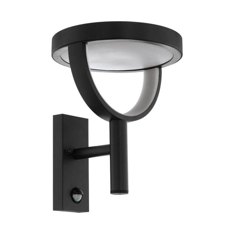 Aplica LED iluminat exterior, design modern cu senzor de miscare IP44 FRANCARI 98233 EL, Iluminat cu senzor de miscare, LED⭐ modele stil decorativ potrivite pentru iluminat exterior casa, gradina si terasa.✅Design ornamental 2021!❤️Promotii lampi exterior cu senzor de miscare❗ Magazin online➽www.evalight.ro. Alege oferte la corpuri de iluminat exterior cu senzor de miscare, tip aplice exterior de perete sau tavan, plafoniere exterior, proiectoare LED fatade cladiri, stalpi iluminat si felinare cu lumina ambientala, moderne, clasice, rustice si traditionale, cu aspect retro sau vintage, industrial, solare cu panou solar, cu bec LED economic, pt iluminare curte, alei, foisoare, ieftine si de lux, calitate la cel mai bun pret. a