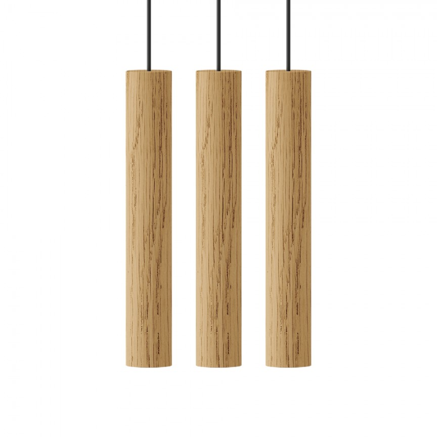 Lustra cu 3 pendule design minimalist din lemn cu spot LED încorporat Chimes 3 - oak, Corpuri de iluminat cu LED pentru interior⭐ modele moderne pt living dormitor, bucatarie, baie.✅DeSiGn LED decorativ 2021!❤️Promotii lampi LED❗ ➽ www.evalight.ro. Alege oferte la colectile NOI de lustre LED suspendate, candelabre de tip suspensii (lungi) cu cristale, abajur material textil, brate tip lumanare, lemn, metal, sticla, ieftine si de lux, calitate deosebita la cel mai bun pret. a