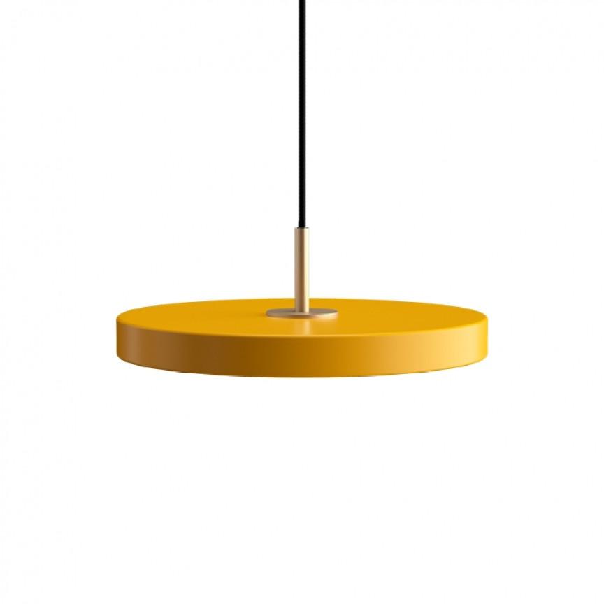 Lustra LED design scandinav Asteria mini - saffron yellow/ auriu , Corpuri de iluminat cu LED pentru interior⭐ modele moderne pt living dormitor, bucatarie, baie.✅DeSiGn LED decorativ 2021!❤️Promotii lampi LED❗ ➽ www.evalight.ro. Alege oferte la colectile NOI de lustre LED suspendate, candelabre de tip suspensii (lungi) cu cristale, abajur material textil, brate tip lumanare, lemn, metal, sticla, ieftine si de lux, calitate deosebita la cel mai bun pret. a