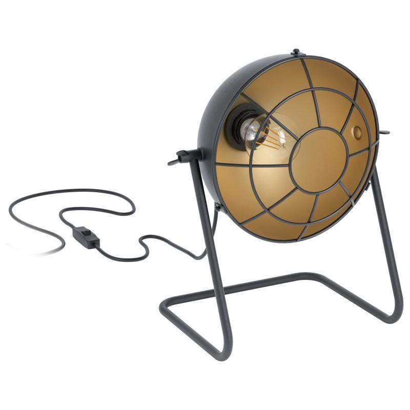 Veioza design vintage TREBURLEY 43185 EL, Candelabre si Lustre moderne elegante⭐ modele clasice de lux pentru living, bucatarie si dormitor.✅ DeSiGn actual Top 2020!❤️Promotii lampi❗ ➽ www.evalight.ro. Oferte corpuri de iluminat suspendate pt camere de interior (înalte), suspensii (lungi) de tip lustre si candelabre, pendule decorative stil modern, clasic, rustic, baroc, scandinav, retro sau vintage, aplicate pe perete sau de tavan, cu cristale, abajur din material textil, lemn, metal, sticla, bec Edison sau LED, ieftine de calitate deosebita la cel mai bun pret. a