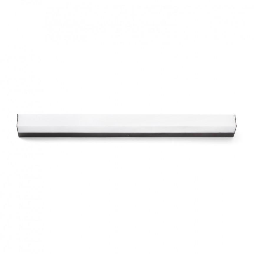 Aplica LED oglinda Baie IP44 stil modern liniar NILO-1 neagra 63316, Aplice perete baie, LED⭐ lampi oglinda, tablou moderne pentru iluminat baie.✅DeSiGn LED decorativ de lux 2021!❤️Promotii aplice baie❗ ➽www.evalight.ro. Alege oferte la corpuri de iluminat baie pt interior de tip plafoniere cu spoturi aplicate tavan, mobila, cu protectie IP rezistente la apa, ieftine de calitate deosebita la cel mai bun pret! a