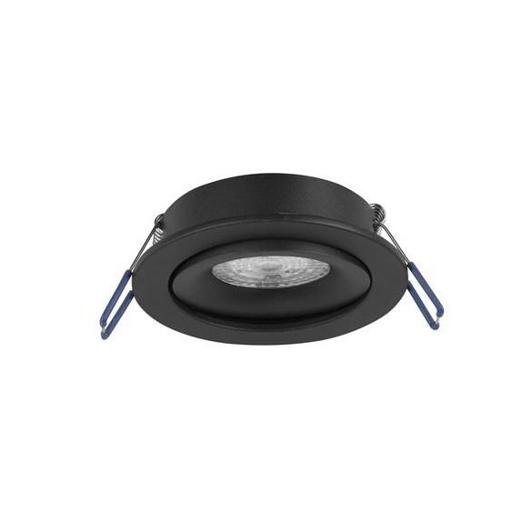 Spot directionabil incastrabil tavan fals Redo negru NVL-9350441, Spoturi incastrate tavan / perete, LED⭐ modele moderne pentru baie, living, dormitor, bucatarie, hol.✅Design decorativ 2021!❤️Promotii lampi❗ ➽ www.evalight.ro. Alege oferte la colectile NOI de corpuri de iluminat interior de tip spot-uri incastrabile cu LED, cu lumina calda, alba rece sau neutra, montare in tavanul fals rigips, mobila, pardoseala, beton, ieftine de calitate la cel mai bun pret. a