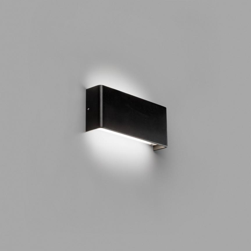 Aplica LED ambientala NASH 8W neagra 62821, Aplice de perete LED, moderne⭐ modele potrivite pentru dormitor, living, baie, hol, bucatarie.✅DeSiGn LED decorativ 2021!❤️Promotii lampi❗ ➽ www.evalight.ro. Alege oferte NOI corpuri de iluminat cu LED pt interior, elegante din cristal (becuri cu leduri si module LED integrate cu lumina calda, naturala sau rece), ieftine si de lux, calitate deosebita la cel mai bun pret.  a