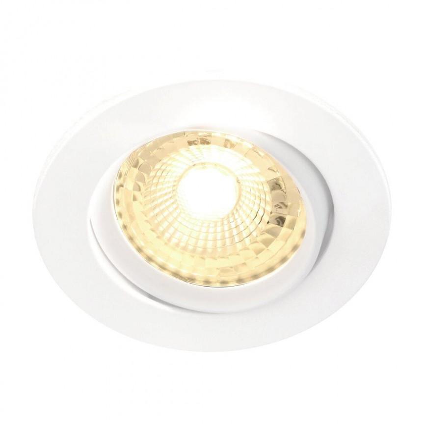 Set de 3 spoturi LED incastrabile Octans alb 2700K 49250101 NL, Spoturi incastrate tavan / perete, LED⭐ modele moderne pentru baie, living, dormitor, bucatarie, hol.✅Design decorativ 2021!❤️Promotii lampi❗ ➽ www.evalight.ro. Alege oferte la colectile NOI de corpuri de iluminat interior de tip spot-uri incastrabile cu LED, cu lumina calda, alba rece sau neutra, montare in tavanul fals rigips, mobila, pardoseala, beton, ieftine de calitate la cel mai bun pret. a
