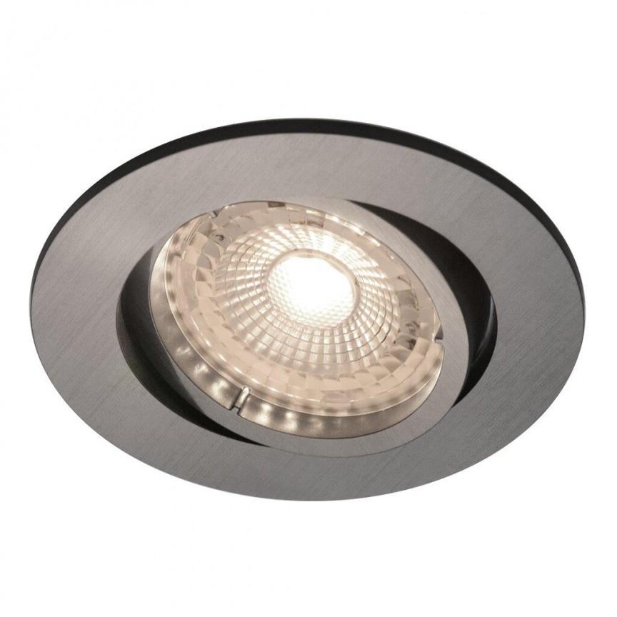Set de 3 spoturi LED incastrabile, directionabile Octans nickel 2700K 49250155 NL, Spoturi incastrate tavan / perete, LED⭐ modele moderne pentru baie, living, dormitor, bucatarie, hol.✅Design decorativ 2021!❤️Promotii lampi❗ ➽ www.evalight.ro. Alege oferte la colectile NOI de corpuri de iluminat interior de tip spot-uri incastrabile cu LED, cu lumina calda, alba rece sau neutra, montare in tavanul fals rigips, mobila, pardoseala, beton, ieftine de calitate la cel mai bun pret. a