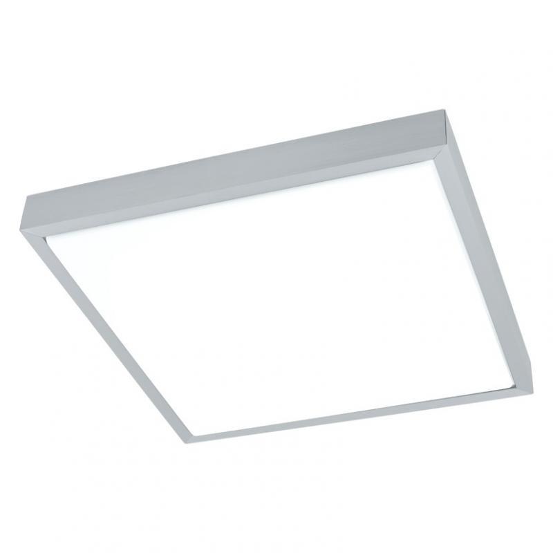 Aplica de perete,plafonier modern cu LED si telecomanda, dim.38x38cm, Idun 2 93942 EL, Lampi LED si Telecomanda, Corpuri de iluminat, lustre, aplice a