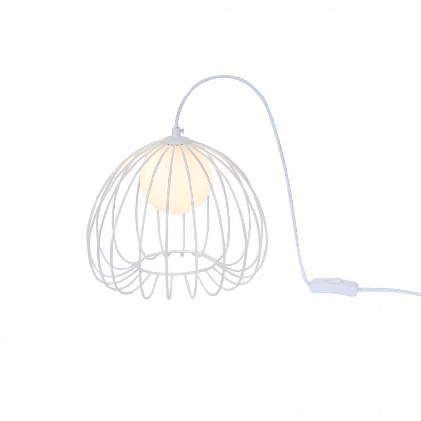 Veioza, lampa de masa design decorativ POLLY alb MYMOD542TL-01W, Veioze / Lampi de Birou, LED⭐ modele moderne tip veioza birou sau lampa de birou copii si office.✅DeSiGn decorativ elegant de lux!❤️Promotii❗ Magazin online ➽www.evalight.ro. Alege oferte corpuri de iluminat si lampi birou pt citit cu reader LED, cu brat flexibil (articulat), cu clips (clema), stil clasic vintage, abajur textil, metal, sticla, lemn, elegante , calitate deosebita la cel mai bun pret. a