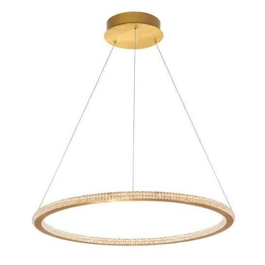 Lustra LED dimabila design elegant CILION 60cm, Promotii si Reduceri⭐ Oferte ✅Corpuri de iluminat ✅Lustre ✅Mobila ✅Decoratiuni de interior si exterior.⭕Pret redus online➜Lichidari de stoc❗ Magazin ➽ www.evalight.ro. a