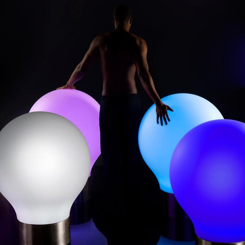 CORP DE ILUMINAT LED RGB DECORATIV THE SECOND LIGHT Ø75cm, Corpuri de iluminat exterior⭐ modele rustice, clasice, moderne pentru gradina, terasa, curte si alei.✅Design decorativ 2021!❤️Promotii lampi❗ Magazin online➽www.evalight.ro. a