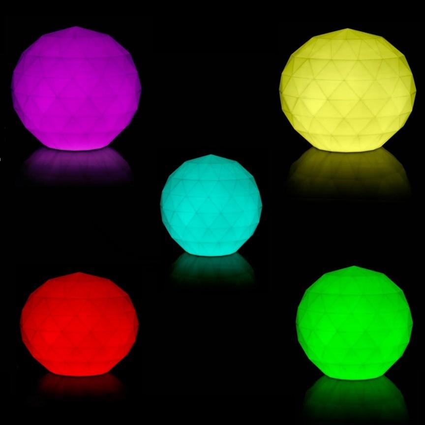 CORP DE ILUMINAT LED RGB DECORATIV VASES LAMPS Ø30cm, Corpuri de iluminat exterior⭐ modele rustice, clasice, moderne pentru gradina, terasa, curte si alei.✅Design decorativ 2021!❤️Promotii lampi❗ Magazin online➽www.evalight.ro. a