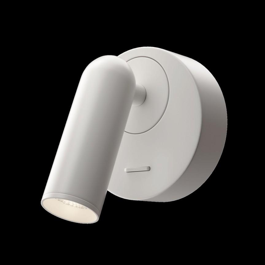 Aplica cu spot directionabil LED design modern MIRAX alb MYC038WL-L3W3K, Aplice aplicate perete sau tavan cu spot, LED⭐ modele moderne corpuri de iluminat tip spot-uri pe bara.✅Design decorativ 2021!❤️Promotii lampi❗ ➽ www.evalight.ro. Alege oferte aplice de iluminat interior, lustre si plafoniere cu 1 spot cu lumina LED si directie reglabila, spot orientabil cu intrerupator, simple si ieftine de calitate la cel mai bun pret. a