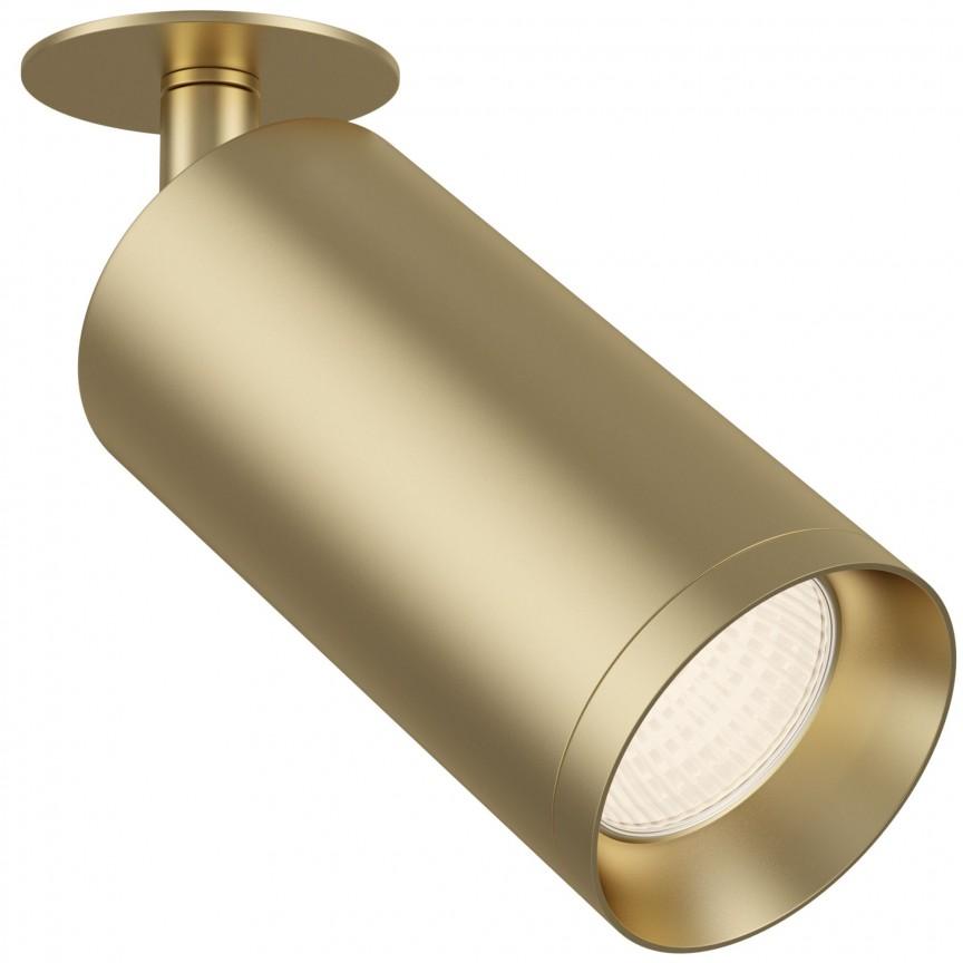 Spot directionabil incastrat de tavan/plafon Focus MYCC018CL-01MG, Spoturi incastrate tavan / perete, LED⭐ modele moderne pentru baie, living, dormitor, bucatarie, hol.✅Design decorativ 2021!❤️Promotii lampi❗ ➽ www.evalight.ro. Alege oferte la colectile NOI de corpuri de iluminat interior de tip spot-uri incastrabile cu LED, cu lumina calda, alba rece sau neutra, montare in tavanul fals rigips, mobila, pardoseala, beton, ieftine de calitate la cel mai bun pret. a