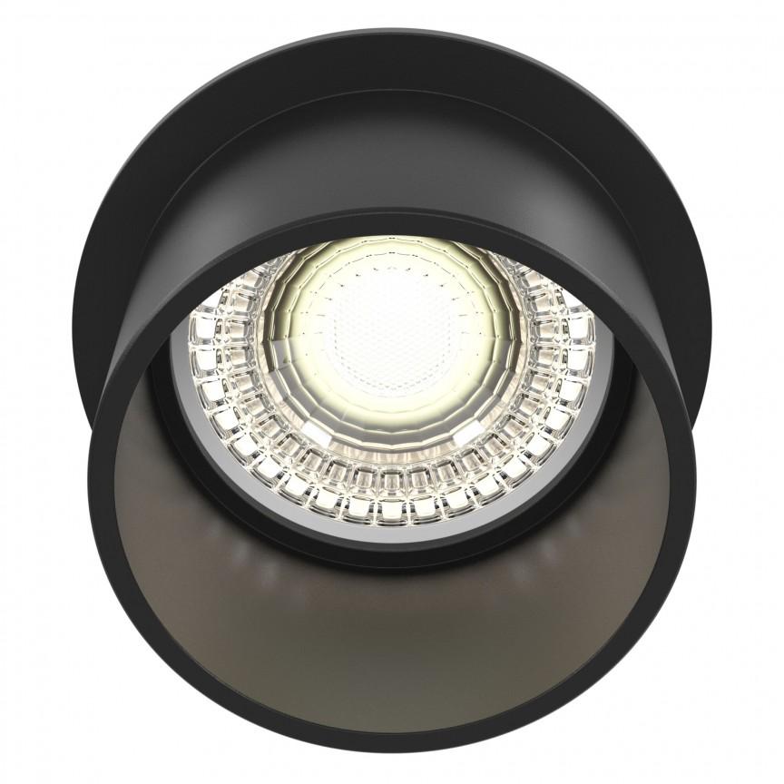 Spot incastrabil design modern Reif negru MYDL050-01B, Spoturi aplicate tavan / perete, mobila, LED⭐modele moderne pentru living,dormitor,bucatarie,baie,hol.✅Design decorativ 2021!❤️Promotii lampi❗ ➽ www.evalight.ro. Alege oferte la colectile NOI de corpuri de iluminat interior de tip spot-uri aparente cu LED, (rotunde si patrate), ieftine de calitate la cel mai bun pret. a